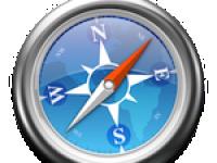 Safari – klávesové zkratky pro Anonymní procházení