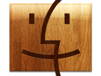 Dřevěné ikony pro váš Mac potřetí