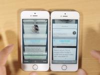 iPhone 5s vs iPhone SE: Jak se dalo předpokládat, 2GB operační paměť je výrazný benefit  (video)