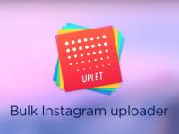 Uplet: Sdílejte fotografie na Instagram přímo z Macu