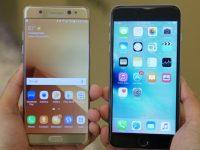 iPhone 6s proti Samsung Note 7 ve srovnávacím testu výkonu. Jak si vedl rok starý iPhone?