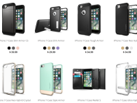Spigen začal prodávat kryty pro iPhone 7, potvrdil tak finální design