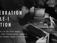 Na internetu probíhá dražba legendárního počítače Apple-1
