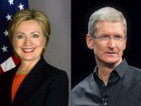 Hillary Clinton zvažovala Tima Cooka jako svého možného viceprezidenta