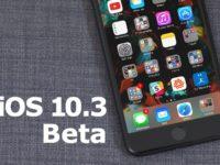 Apple uvolnil aktualizaci iOS 10.3 beta 7 pro veřejnost
