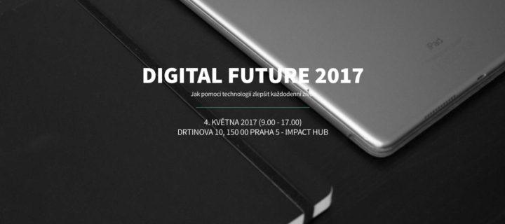 Konference Digital Future 2017 se zameří na cloudové služby