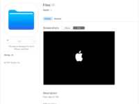 Ochutnávka před večerní WWDC: Apple přidal do AppStore aplikaci Files