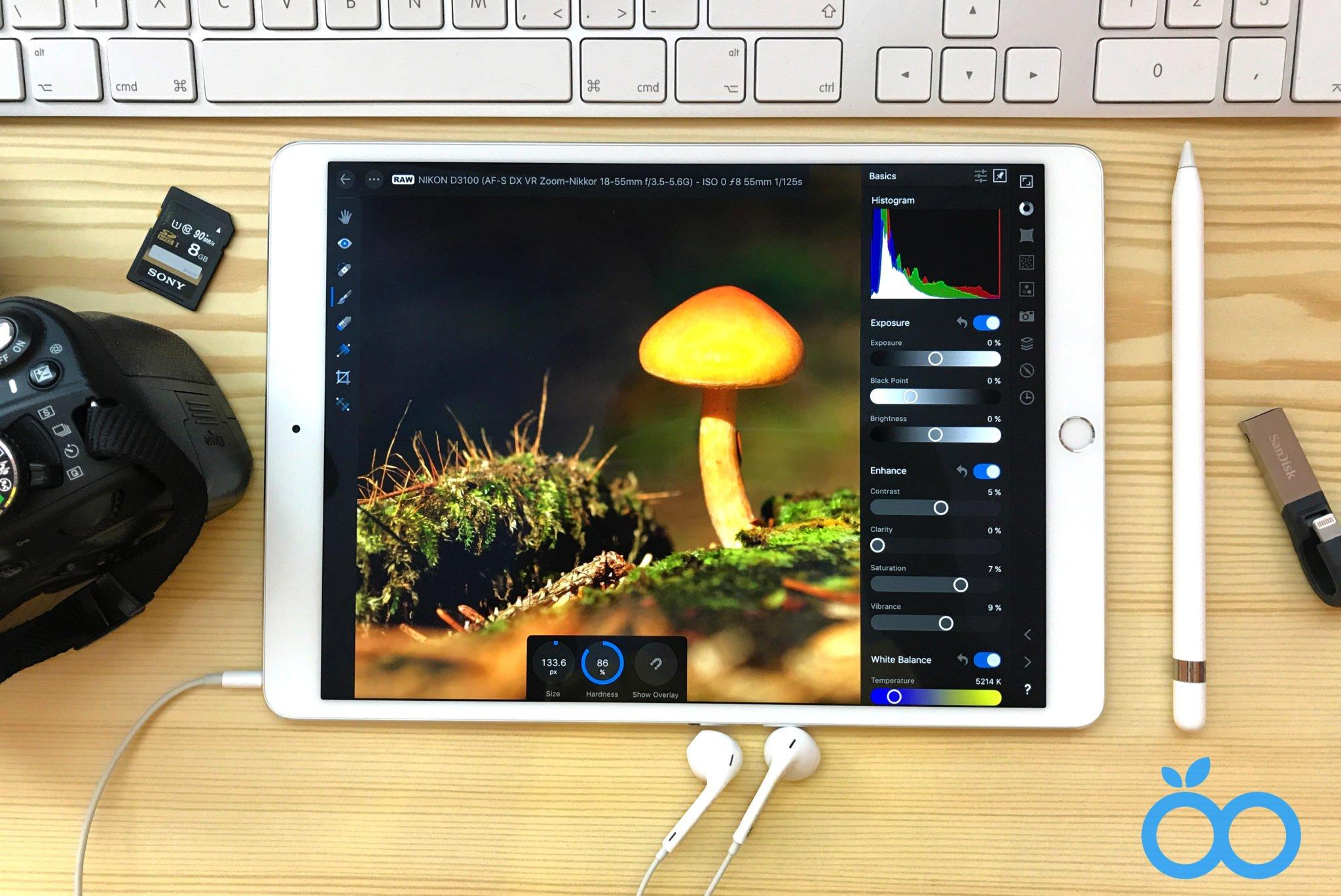 Recenze Affinity Photo pro iPad: profesionální foto aplikace se vším všudy