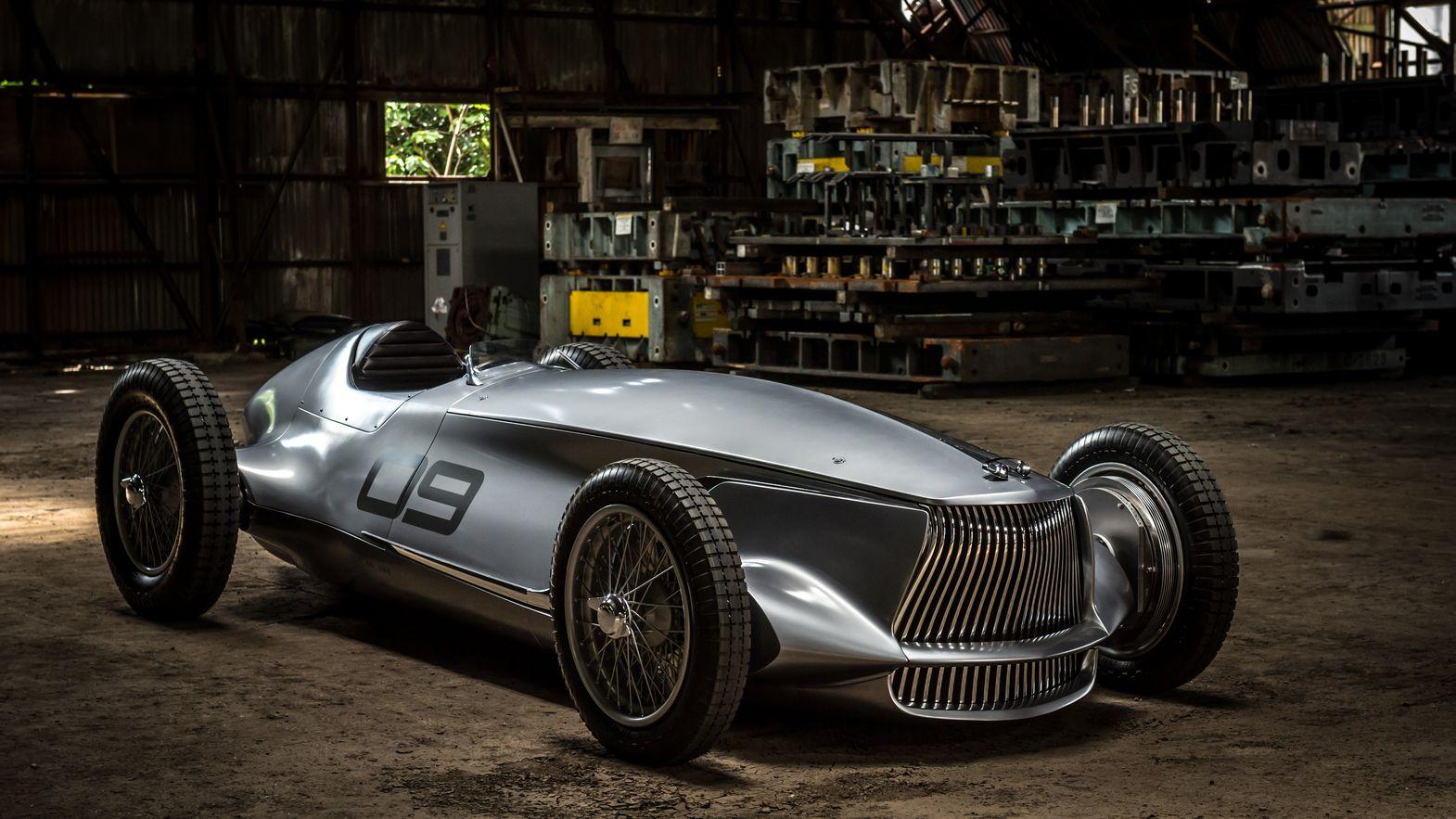 Infinity Prototype 9 je retro lahůdka s elektrickým srdcem a duší závodníka