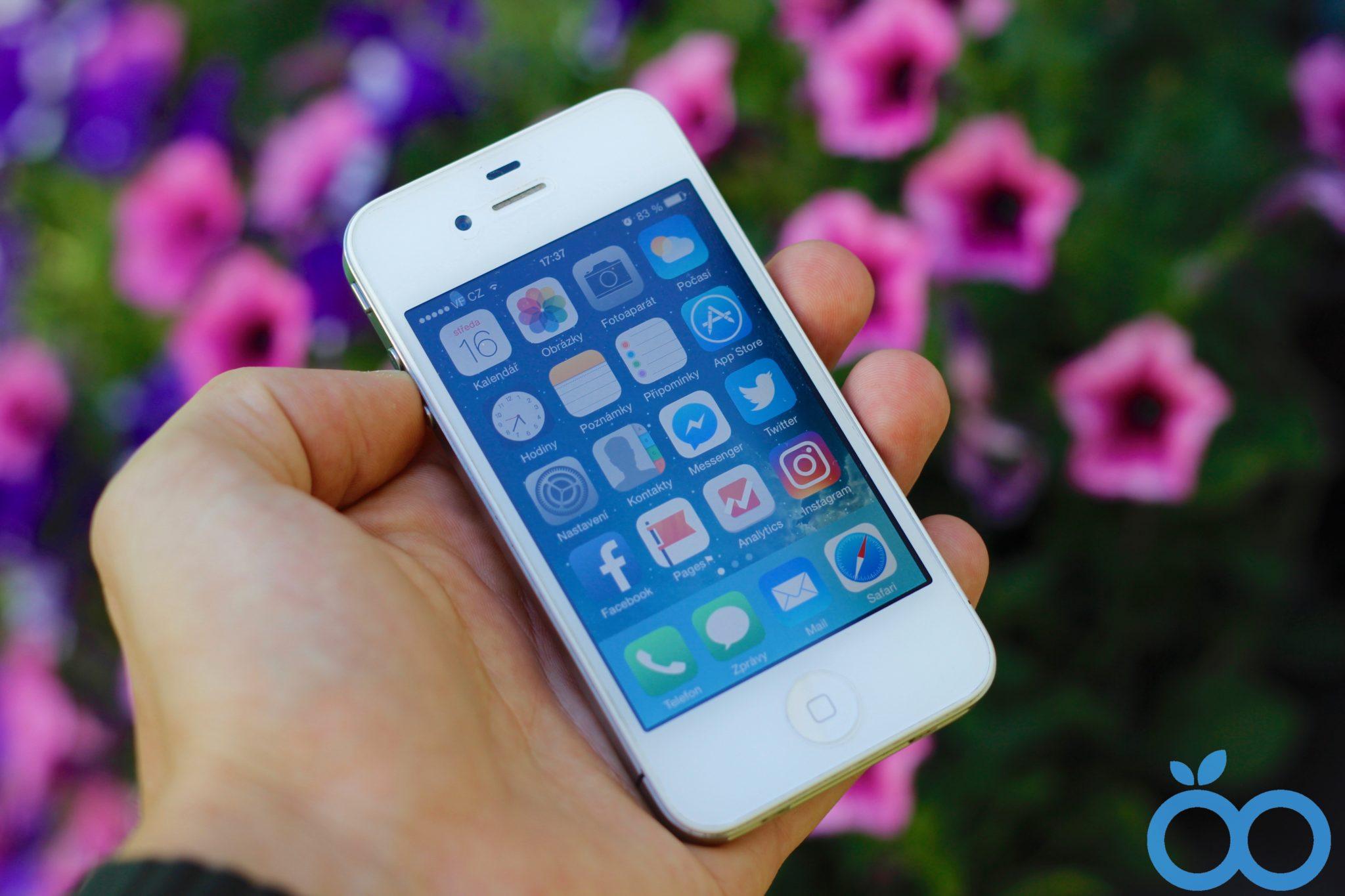 Experiment: jak se žije s iPhone 4 v roce 2017