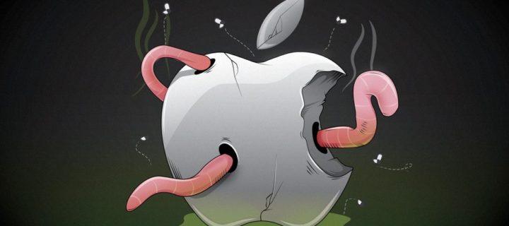 Odvrácená strana nakousnutého jablka. Může Apple dělat více pro ochranu životního prostředí?