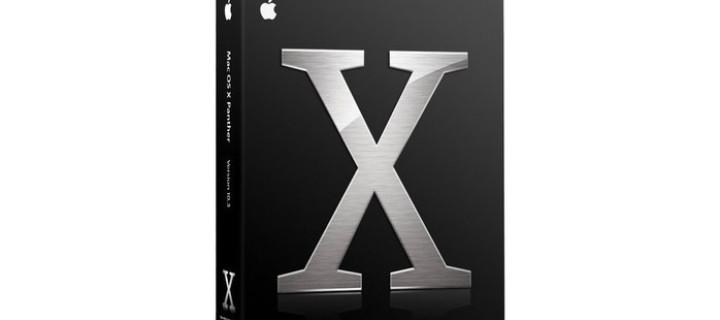 Čeština pro Mac OS X 10.3.9 Panther