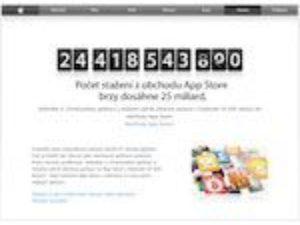 iTunes App Store útočí na 25 000 000 000 stažených aplikací