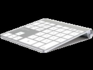 Přeměňte Magic Trackpad na numerickou klávesnici
