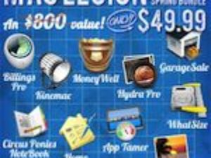 MacLegion Bundle – 10 aplikací za směšnou cenu