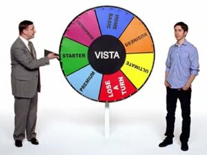 Apple reklamy – Get a Mac – Choose Vista