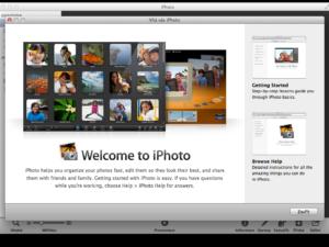 Aktualizace iPhoto 9.2.3