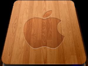 Dřevěné ikony pro váš Mac