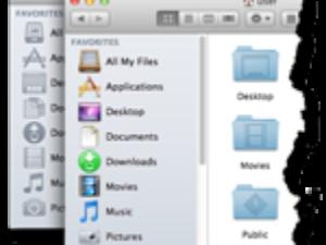 OS X Mountain Lion: Vraťte ikonám v bočním panelu barvu