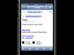 iOS: Vytvořte si lepší emailový podpis