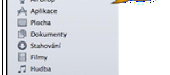 Základy OS X: Co je to Boční panel
