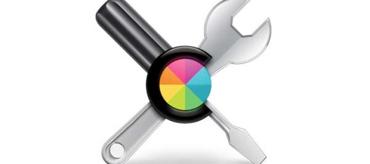 Kalibrace displeje v OS X