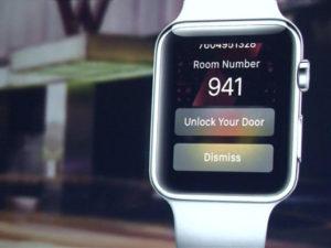 Hotelový řetězec chce s hodinkami od Applu nahradit klíče k pokojům