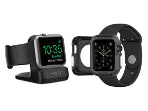Spigen Rugged Armor Case: Brnění pro hodinky Apple Watch