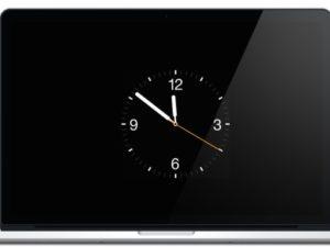 Tip na spořič obrazovky ve stylu Apple Watch
