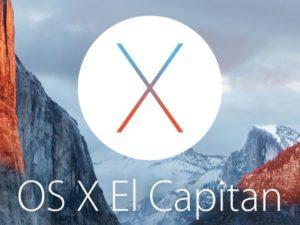 Apple uvolnil finální verzi systému OS X El Capitan 10.11