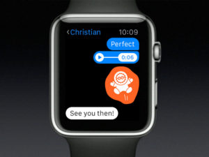 Facebook Messenger si můžete nově užít na hodinkách Apple Watch