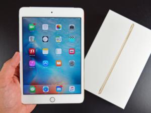 iPad mini 4 se chlubí nejlepším displejem na světě