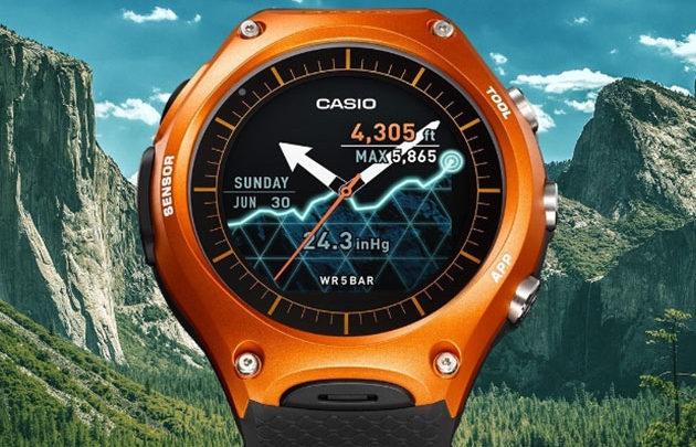 d36852c1074 Casio uvedlo chytré hodinky s měsíční výdrží a špičkovou výbavou ...