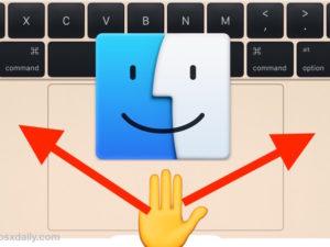 Návod: Jak aktivovat skryté gesto pro tažení třemi prsty v OS X