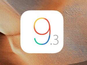 Apple uvolnil finální verzi iOS 9.3 pro veřejnost