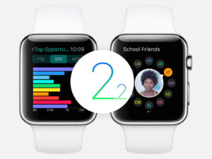 Apple uvolnil WatchOS 2.2