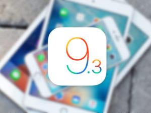 Apple vydal aktualizaci iOS 9.3.2 Public Beta 3 a OS X 10.11.5