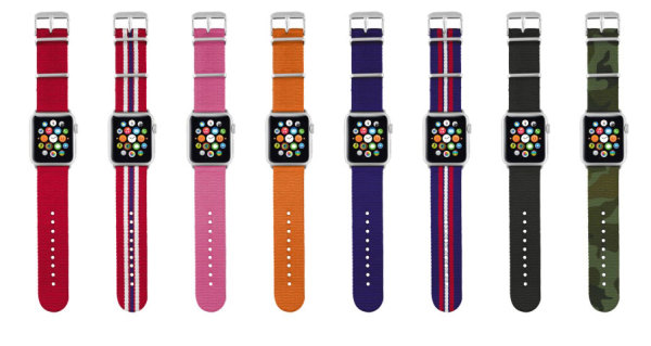 Trust_Nylon_Wrist_Band_for_Apple_Watch_colors_nowat