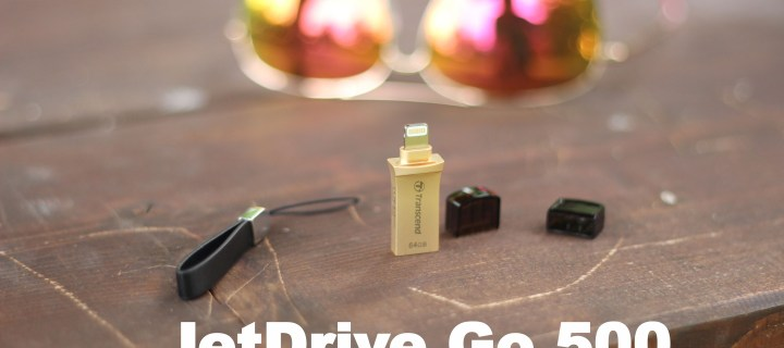 Recenze Transcend JetDrive Go 500: Přenos dat z iOS nebyl nikdy jednodušší