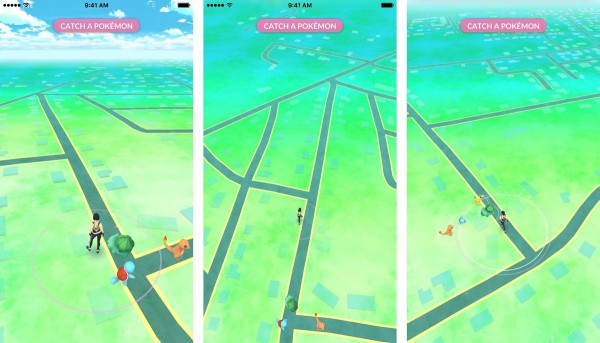 catch-pikachu-walk-screenshot-pokemon-go-1
