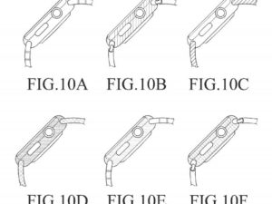 Samsung používá ve svém patentu obrázky Apple Watch