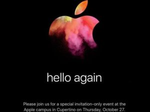 Apple oznámil termín, kdy představí nové MacBooky a další novinky