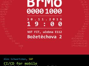 Pozvánka na konferenci BrMo: Brno Mobilně pro všechny fanoušky moderních technologií