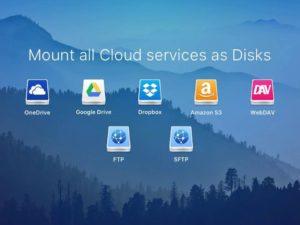 CloudMounter: Nejlepší aplikace na správu cloudových úložišť