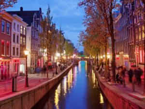 Novinkou v aplikaci Fripito se stal kosmopolitní Amsterdam