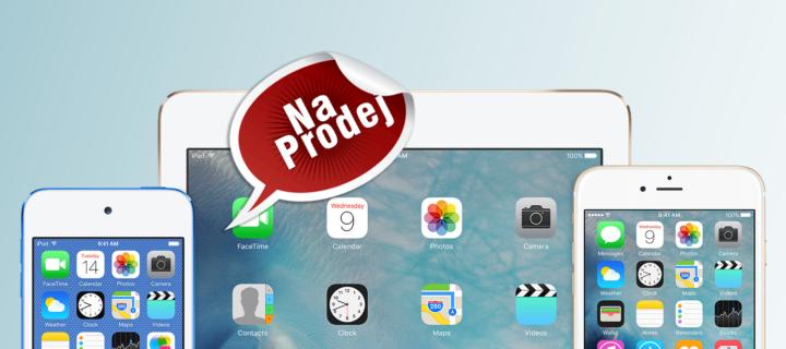 Jak připravit iPad nebo iPhone k prodeji