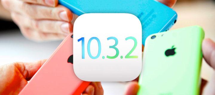 iOS 10.3.2 uvolněn pro veřejnost a stále podporuje 32-bitová zařízení