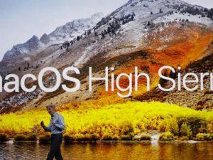 macOS High Sierra oficiálně: Ve víru výkonu a efektivity