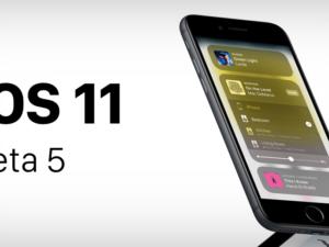 Apple vydal iOS 11 Beta 5 pro vývojáře. Jaké přináší novinky?