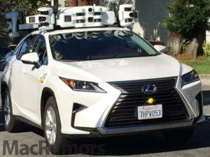 Kalifornii brázdí 45 autonomních aut od Applu. Od ledna se jejich počet zdvojnásobil